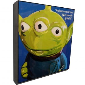 Toy Story Alien Poster