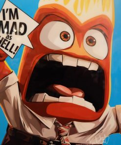 Anger Inside Out Poster