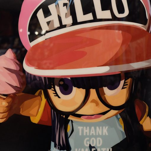 Arale Poster