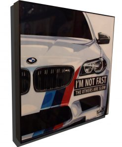 BMW M5 poster