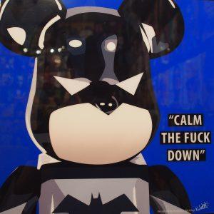 Batman Be@rBrick Poster