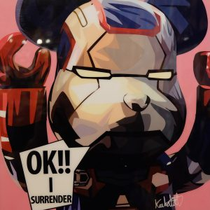 Be@rBrick Iron man X Poster