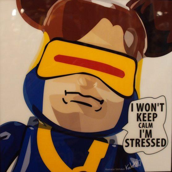 Be@rBrick Cyclops Poster