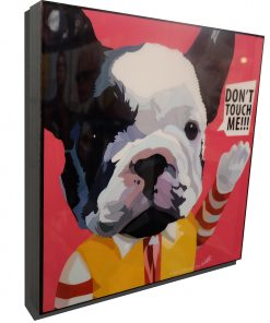Boston Terrier Poster Plaque