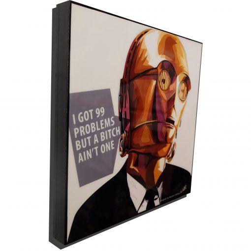 C3PO comedy poster