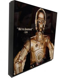 C3PO poster we're all doomed 1