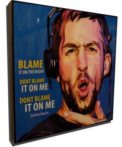Calvin Harris poster Edm