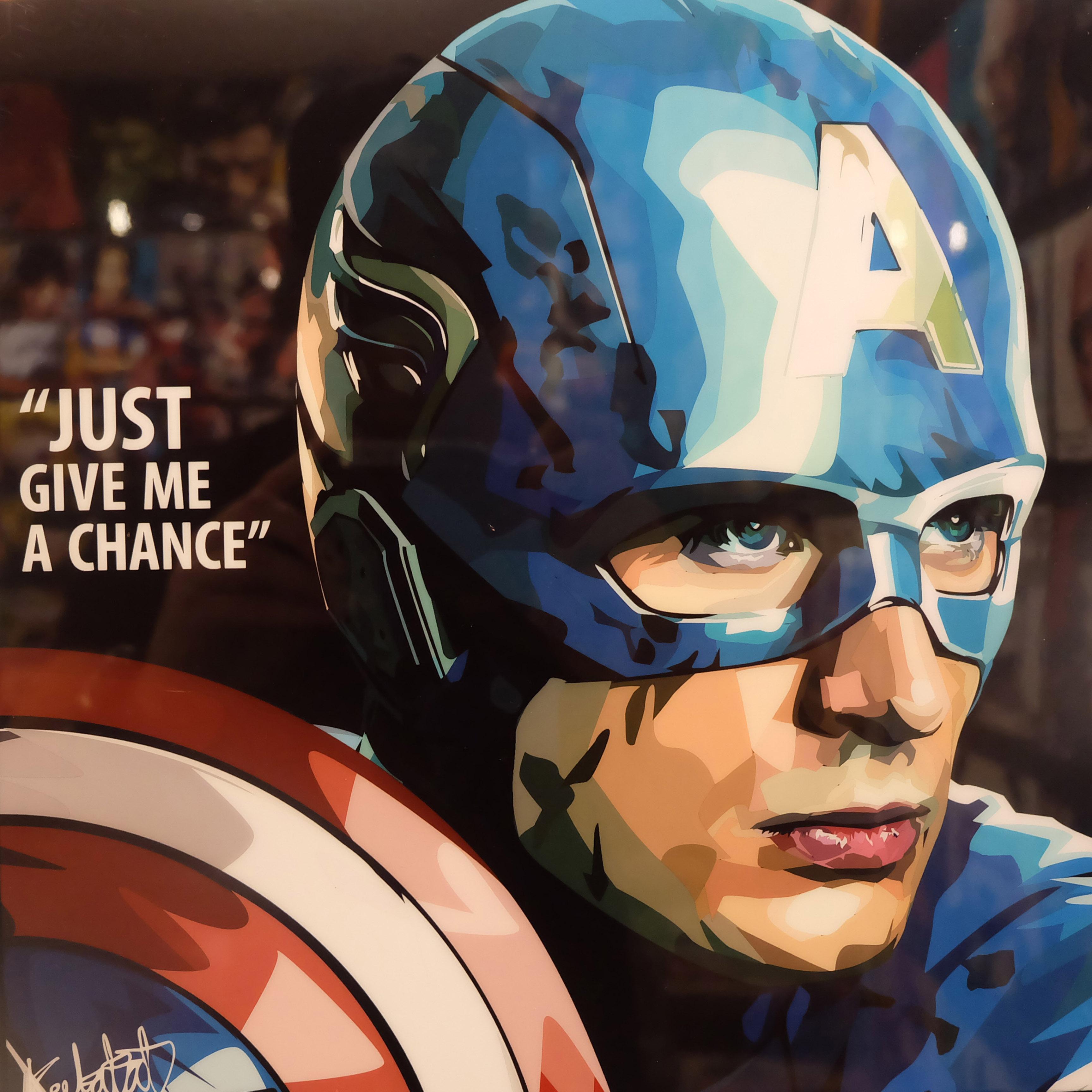 готовлю капитан америка постер в хорошем качестве стоимость
