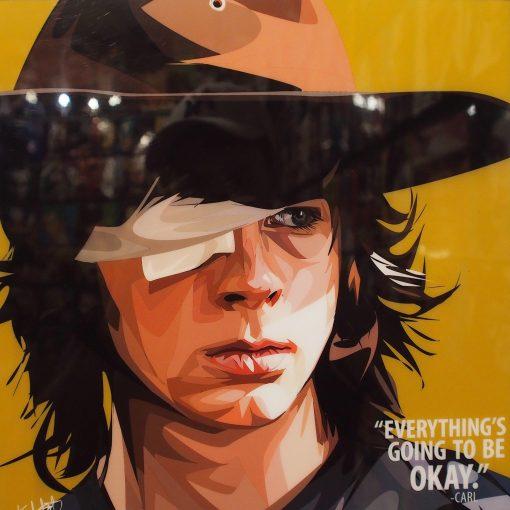 Carl Grimes Poster