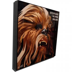 Chewbacca comedy Poster