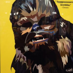 Chewbacca poster Star Wars