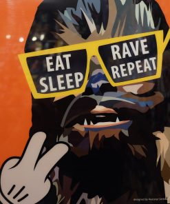 Chewbacca party poster