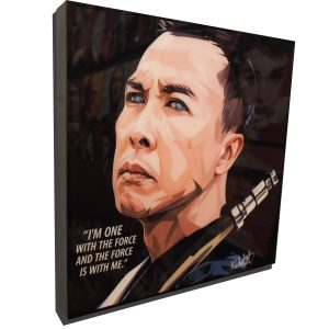 Chirrut Imwe poster Donnie Yen Star Wars Rogue One