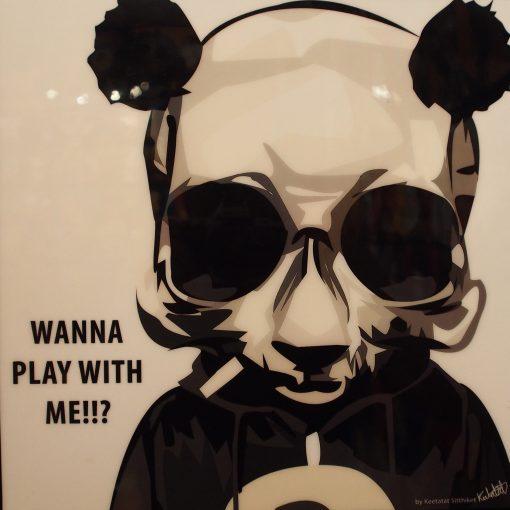 Cool Panda Poster