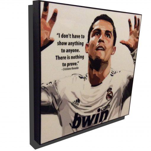 Cristiano Ronaldo Poster Real Madrid