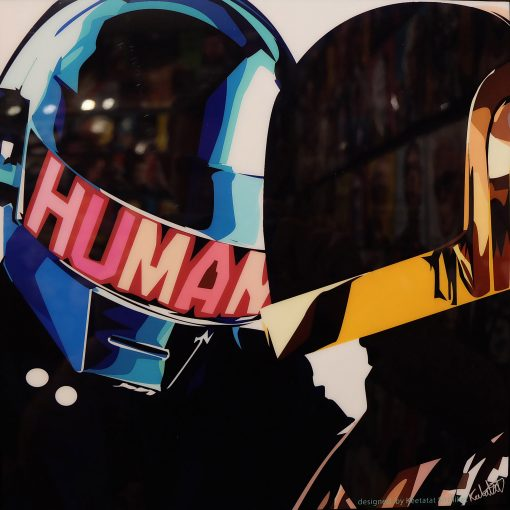 Daft punk duo poster