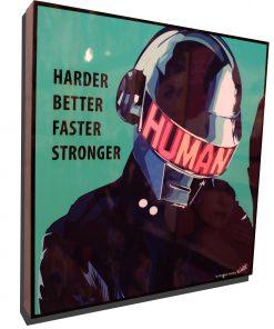 Daft Punk Poster plaque