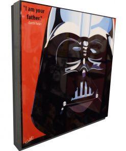 Darth Vader poster plaque