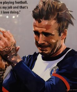 David Beckham Paris Saint Germain Poster