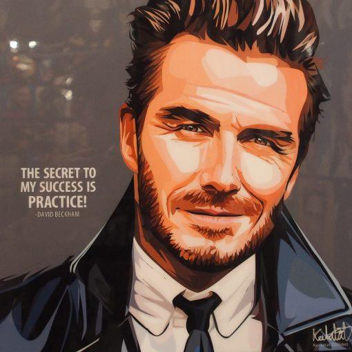 David Beckham Poster