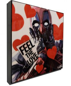 Deadpool Valentines Day Poster