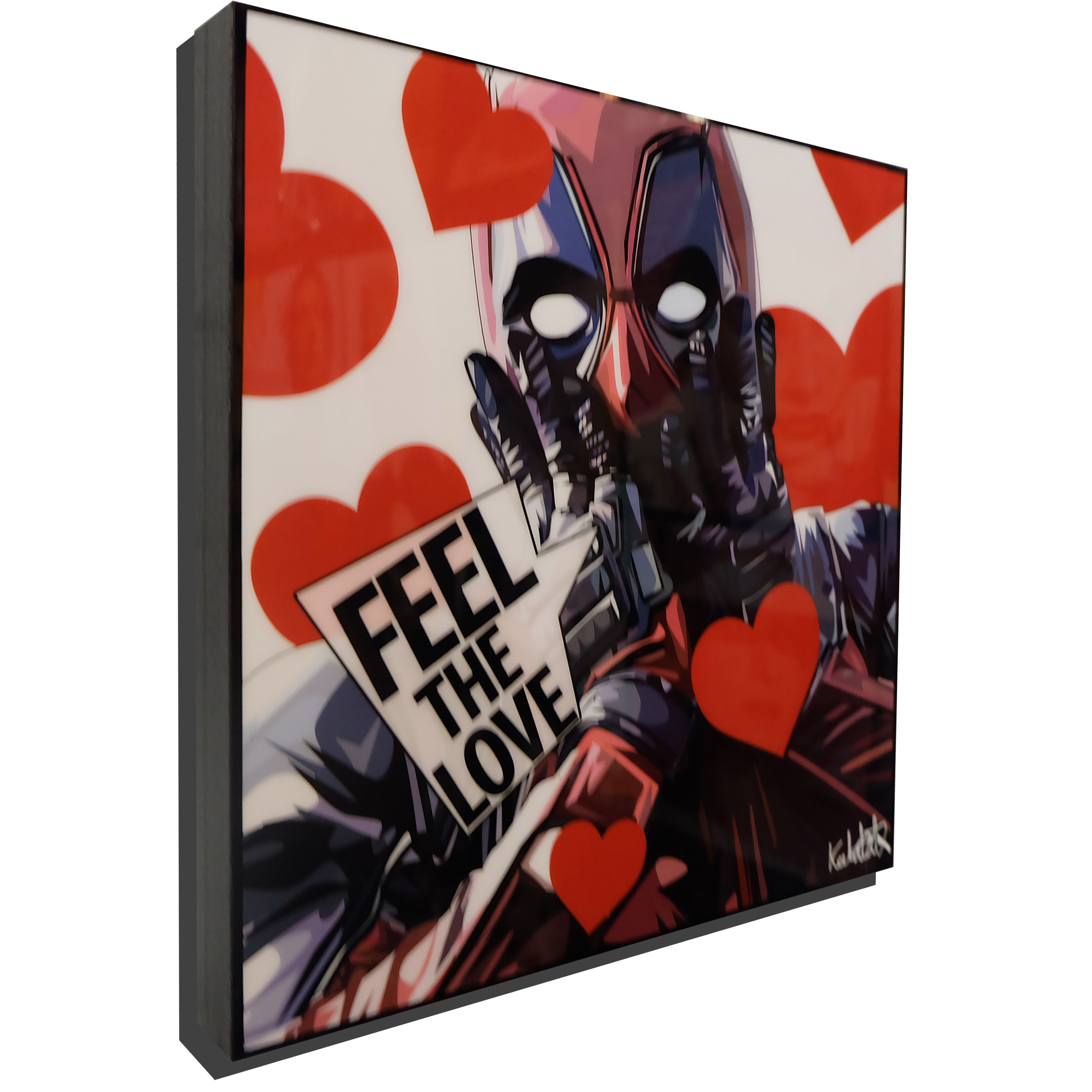 Deadpool Valentines Day Poster Feel The Love Infamous Inspiration