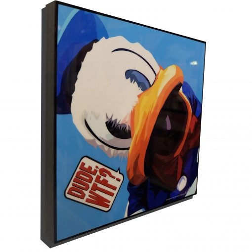 Donald Duck Poster Plaque