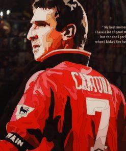 Eric Cantona Poster