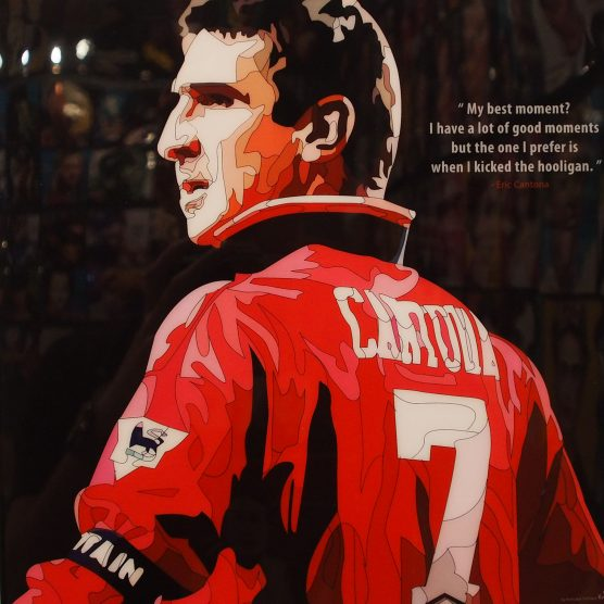 """Eric Cantona Poster """"My Best Moments..."""""""