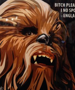 Funny Chewbacca Poster