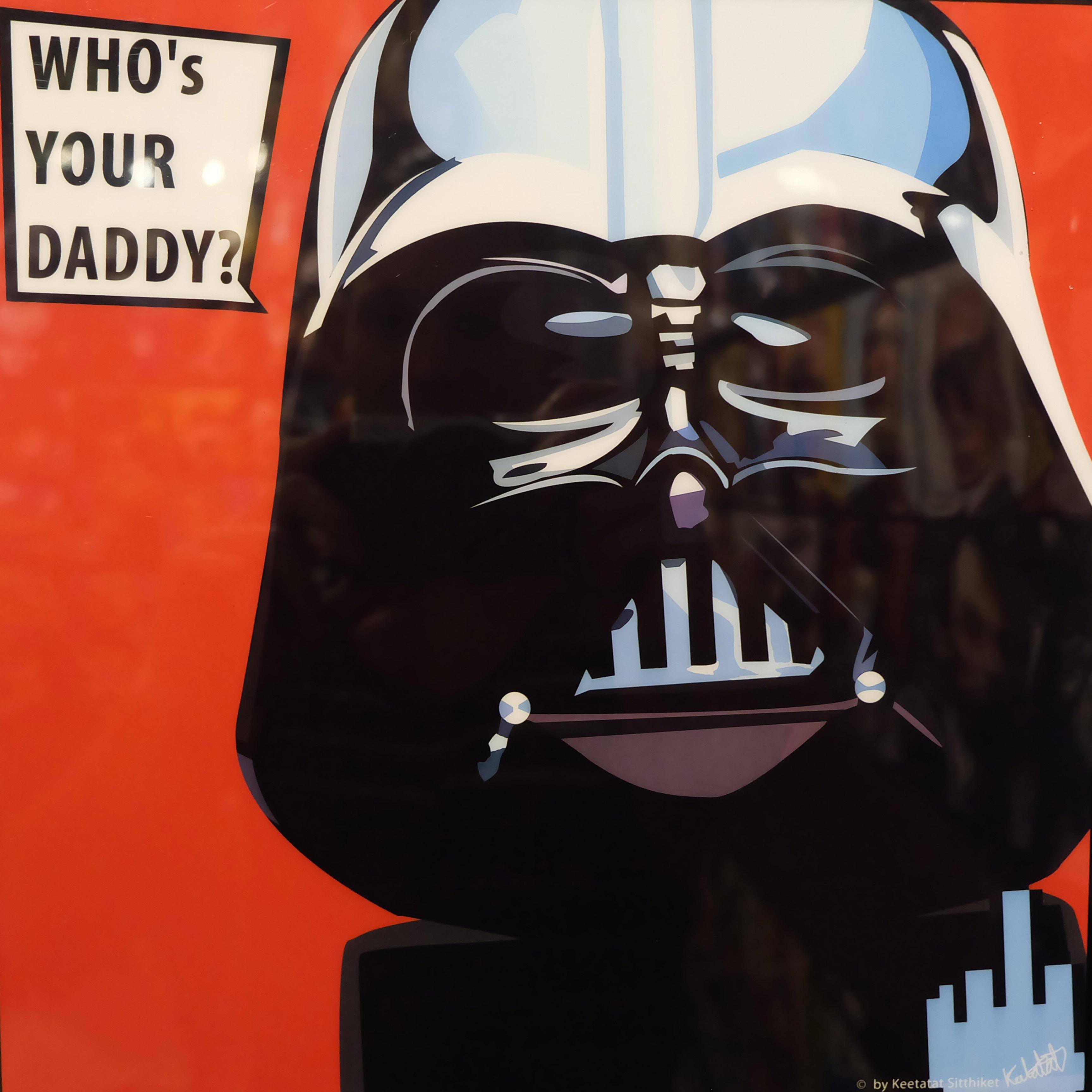 Darth Vader Pop Art Poster Star Wars Infamous Inspiration