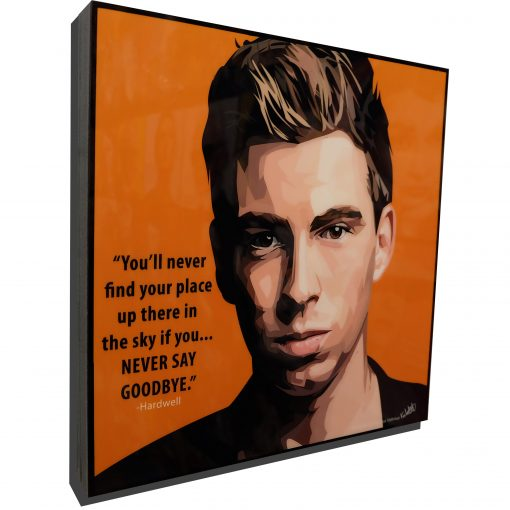 Hardwell poster plaque