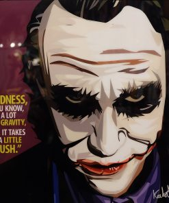 Heath Ledger The Joker Poster
