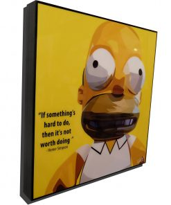 Homer Simpson poster