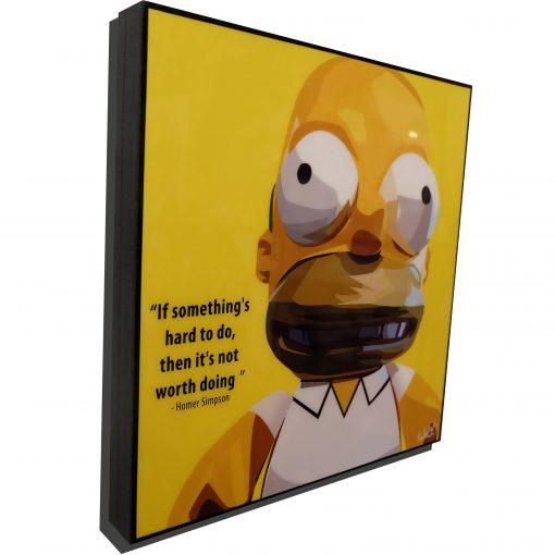 Homer Simpson poster