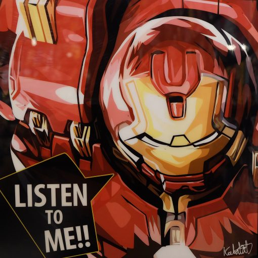 HulkBuster Poster Plaque