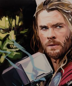 Incredible Hulk & Thor Poster