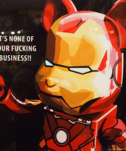 Iron Man Be@rBrick Poster