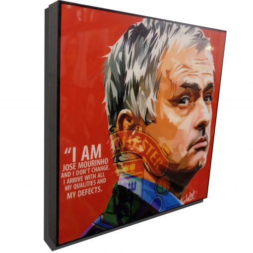 Jose Mourinho Manchester United Poster