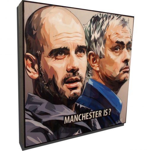 Jose Mourinho & Pep Guardiola Poster