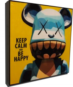 KAWS Be@rBrick Chompers Poster