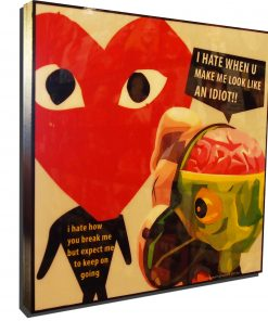 KAWS Companion meets Play Poster Plaque