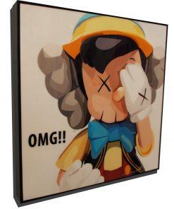 KAWS Pinocchio Poster