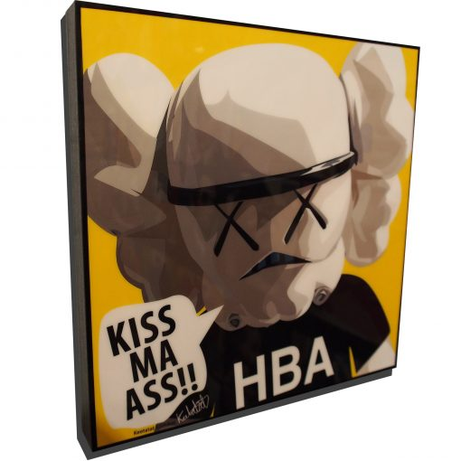 KAWS Stormtrooper poster