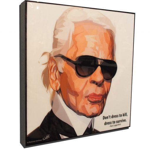 Karl Lagerfeld Poster