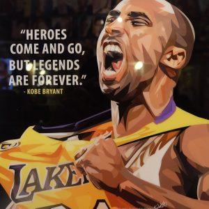 Kobe Bryant Poster,
