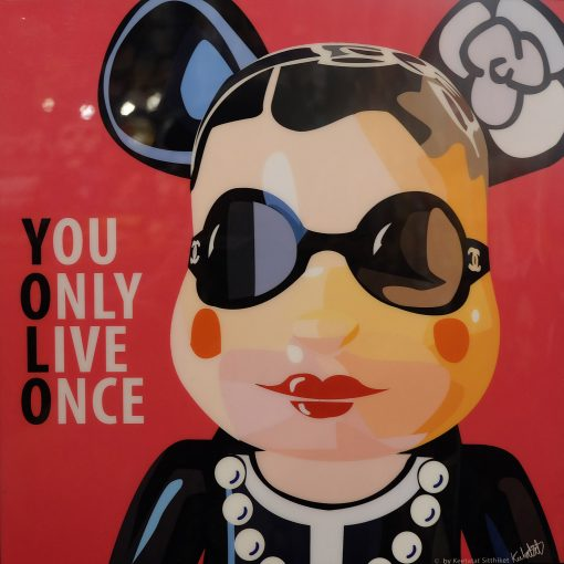 Lady CH Be@rBrick Poster