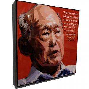 Lee Kuan Yew Poster
