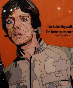 Luke Skywalker Poster