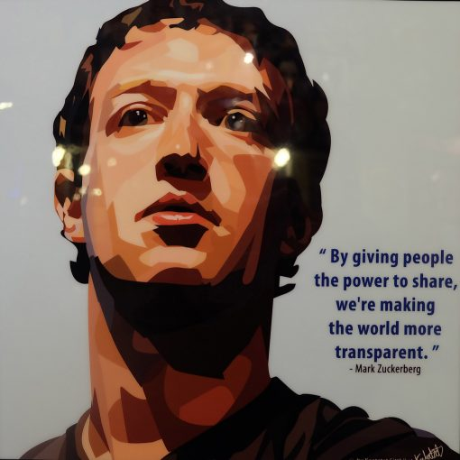 Mark Zuckerburg Poster